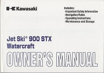 2000 KAWASAKI JET SKI 900 STX WATERCRAFT OWNER MANUAL (957)