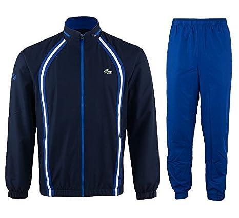 Lacoste Chandal De Deporte Hombre - marino - azul - blanco, 4 ...