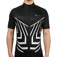 Tiekoun Mens Cycling Jerseys Tops Biking Shirts Deals