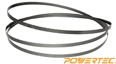 POWERTEC 13131X Band Saw Blade 62-Inch x 1/4-Inch x 6 TPI from POWERTEC