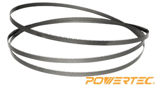 "POWERTEC Band Saw Blade - 59.5"" X 1/4"" X 14TPI for Delta BS1"