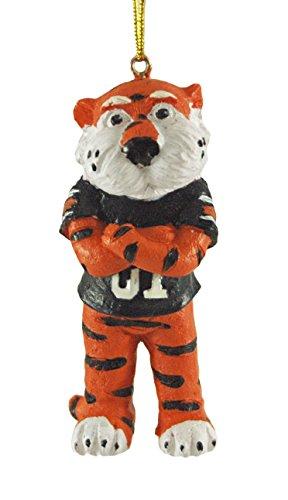 (JWM Aubie the Auburn Tiger Mascot Hanging Christmas Ornament)