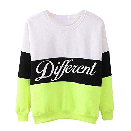 Hengzhi Womens Sleeve Pullover Sweatshirt