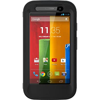 OtterBox DEFENDER SERIES for Moto G (1st Gen ONLY) - Retail Packaging - BLACK