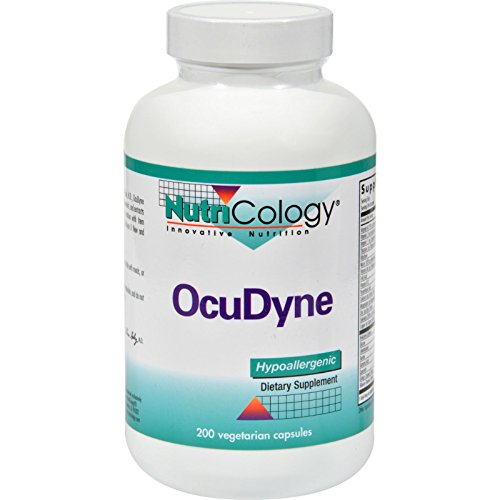 2Pack! Nutricology OcuDyne - 200 Caps by Vision