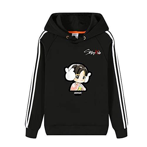 Simple Black Imprimées Et Avec Kids Sweats Hommes shirt Pour Unisex Sport White05 Femmes Sweat Stray À Polaire Hiver Capuche 6OvTqf