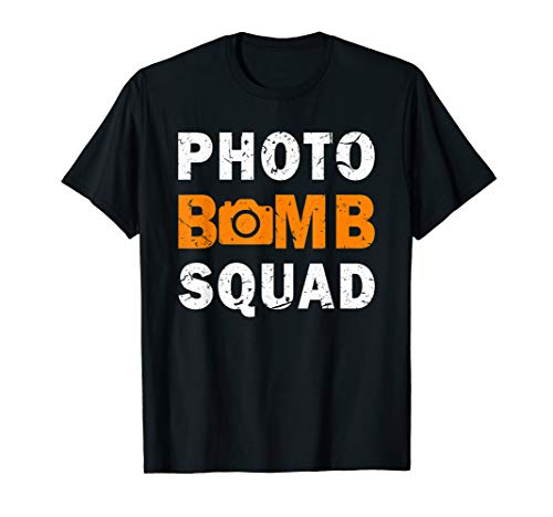 Photo Bomb Squad for Halloween Costumes T-Shirt]()