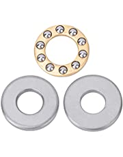Esenlong 10pcs/ lot Thrust Ball Bearing Miniature High Precision Flat Steel Bearings Set