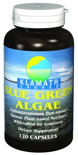 American Health Klamath Shores Blue-Green Algae, 120 Capsules Klamath Blue Green