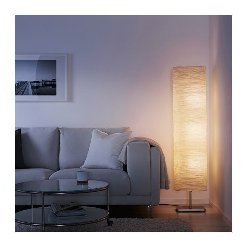 Modern Rice Paper Shade Asian Floor Mood Lamp, 3 Warm Led Bulbs Are  Included - Paper Lantern Lamps - Amazon.com