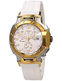 T-Race White Dial Women's Watch #T048.217.27.017.00