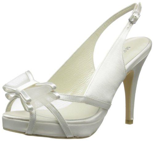Menbur Wedding Fabiana 5915 Damen Sandalen Elfenbein (Ivory 04)