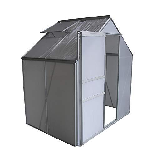 Abba Patio Walk In Greenhouse 8 L X 6 W X 6 6 H Fully