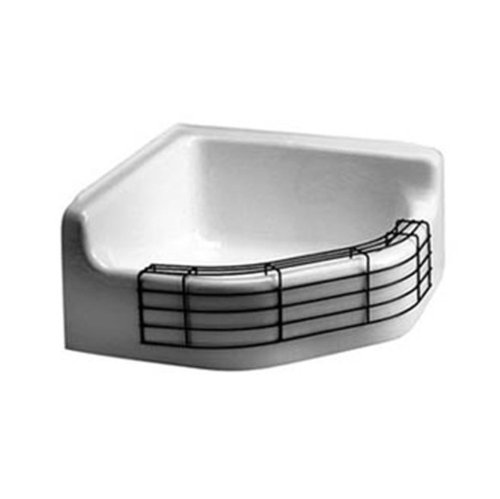 American Standard 7741.000.020 Florwell Service Sink With Glossy Porcelain  (Rim Guard Not Included), White