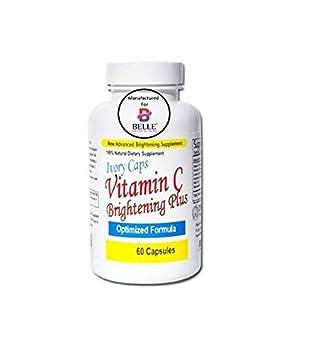 b49c1491ab88 L ivoire couvre la vitamine C blanche éclaircissante plus la peau  blanchissant des pilules d