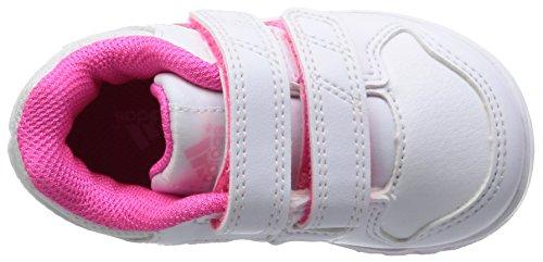 adidas LK Trainer 6 CF I - Zapatillas unisex Blanco / Fucsia