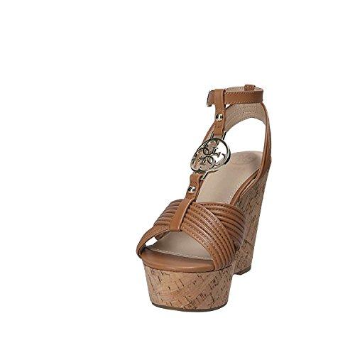 Gætte Flgil1 Lea03 Kile Sandaler Kvinder Brun QfuoqC