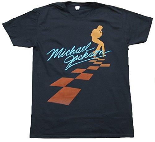 Michael Jackson Square Dancing Black T-Shirt - Medium
