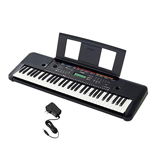 Yamaha PSR-E263 Portable Keyboard with Power Adapter
