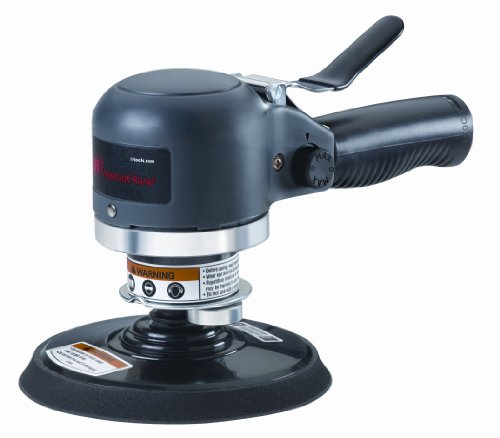(Ingersoll Rand 311A 6-Inch Heavy-Duty Air Dual-Action Quiet Sander)