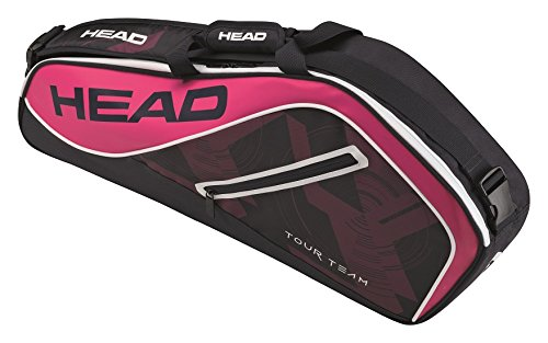 (HEAD Tour Team 3R Pro Tennis Bag, Navy/Pink)