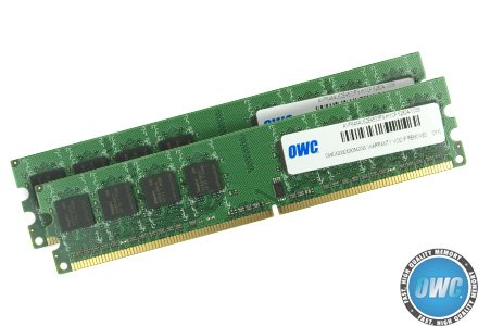 OWC 4.0GB Matched Pair (2GB modules x 2) PC4200 DDR2 533MHz 240 Pin DIMM for 'Late 2005' G5 Power Mac 'Dual-Core & Quad-Core' Models (Model OWC4200DDR2M4GP)
