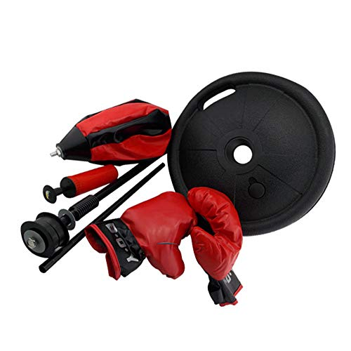 Zhao Xiemao Kids Toys Children's Boxing Ball Boxing Bag Set with Gloves and Pumps, Adjustable Free Standing 70-105 cm Birthday Kids Adults by Zhao Xiemao (Image #1)