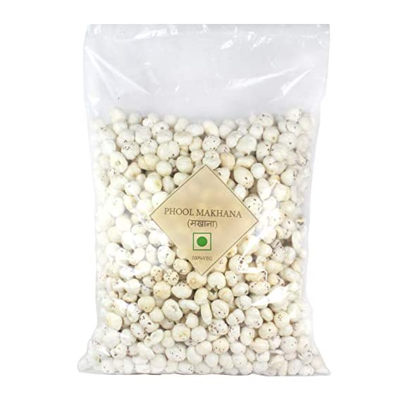 Minimal Organic Fox Nut(Organic Makhana)(Gread A/Big Size),1Kg(Pack of 2)