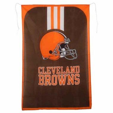 Littlearth NFL Cleveland Browns Team Fan Flag, 31.5 x 47-Inches, Orange