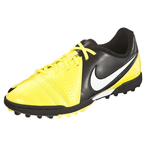 Nike Bota Jr CTR360 Libretto III Turf Amarilla-Negra Talla 1,5Y