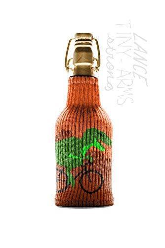 Lance Tiny - Arms Strong Freaker - One Size Fits Every Bottle - Can Cozy / Bottle Insulator - Made in America