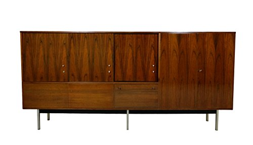 Large Nearly 10ft Rosewood Mid century Media console Credenza, Bar Danish (Credenza Rosewood)
