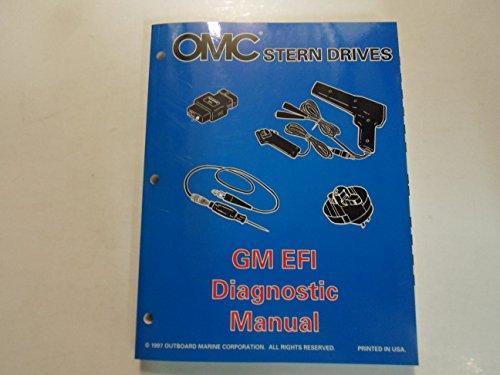 (1998 OMC Stern Drives GM EFI Diagnostic Manual BOAT FACTORY OEM BOOK 98 DEAL )