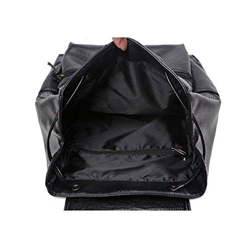 Männliche Und Weibliche Studenten Minimalistische Schultertasche Beutel Der Großen Kapazität Reiserucksack College Wind Lässige Tasche