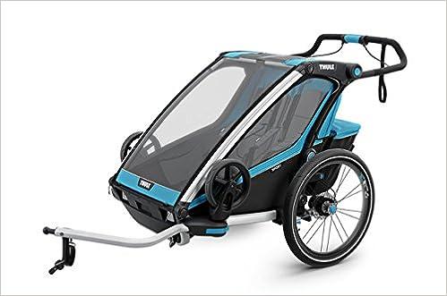 Thule Chariot Sport 2 Blau Fahrradanhanger Joggingtransporter