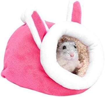 Nido 1PC Hamster Jaula PequeñA para Mascotas Mini Lindo CóModo Suave Erizo PequeñO HáMster AlgodóN Caliente La Cama para Dormir Casa Hamster Nido, 16x15x12cm, Rosa: Amazon.es: Hogar