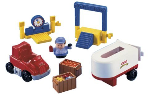 Little People Fun Sounds Truck by Little People