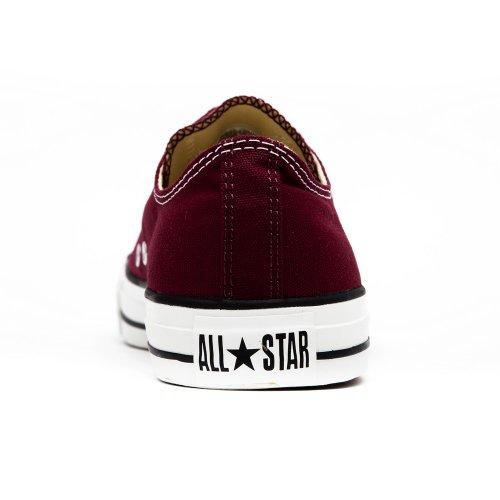 Converse All Star OX - Zapatillas de deporte de lona, unisex Maroon