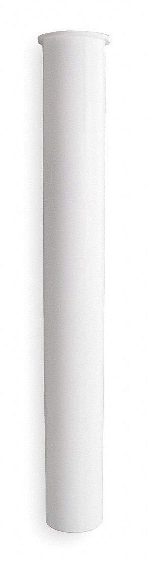 Tailpiece Pipe Dia 1 1//2 in Plastic