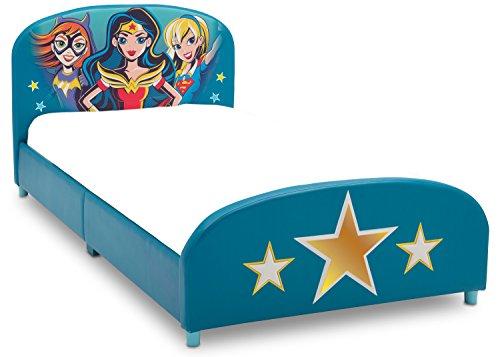 Delta Children Upholstered Twin Bed, DC Super Hero