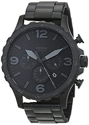 Fossil Men's JR1401 Nate Stainless Steel Watch with Link Bracelet (Fossil Watchs Nate)