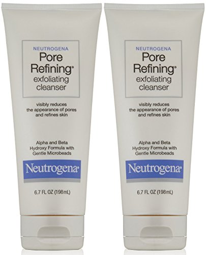 Neutrogena Pore Refining Cleanser, 6.7 Ounce (Pack of 2) Pore Refining Exfoliating Gel