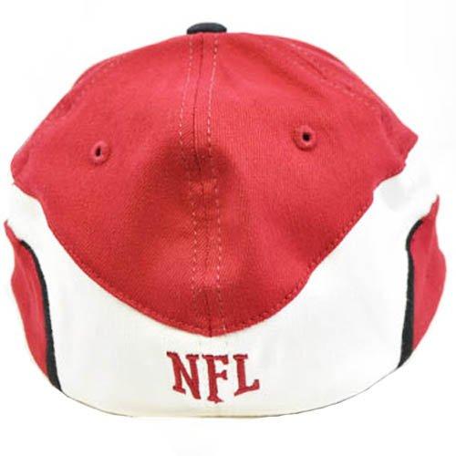 NFL Arizona tarjetas cardenales rojo oscuro blanco pequeño mediano licencia  Flex Fit sombrero gorra  Amazon.es  Deportes y aire libre 02c6152eaa0