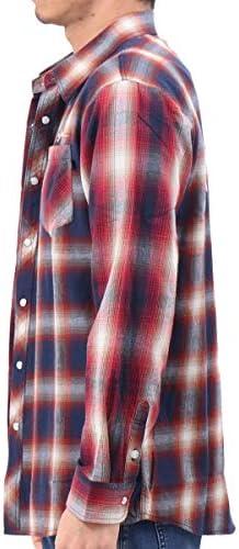 [カールカナイ] Karl Kani シャツ 長袖 クレイジー切替え チェック シャツ 201K1502