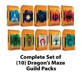 Dragons Maze (Magic the Gathering: Dragon's Maze Guild Pack Set of 10 MTG)