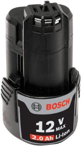 Bosch BAT414 12-Volt Max Lithium-Ion 2.0Ah High Capacity Battery ()