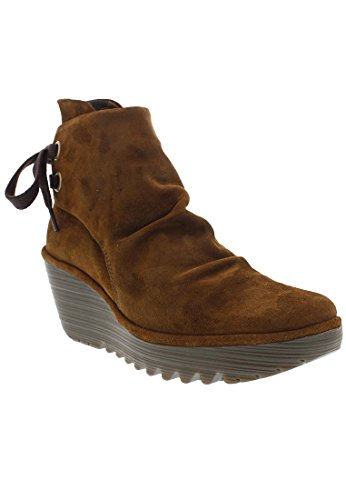 FLY LondonYama - botas Mujer Marrón (Camel)