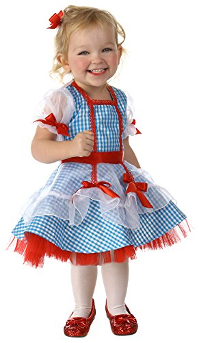 Wizard Of Oz Dorothy Costume Infant (Princess Paradise Baby Girls' the Wizard of Oz Dorothy Glitter Deluxe Costume, As Shown, 12 to 18 Months)