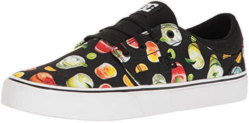 DC Men's Trase Sp Skateboarding Shoe, Black/Graffiti Print, 9 D US