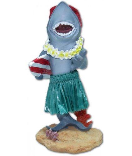 Hawaiian Miniature Dashboard Doll Shark With Surfboard by KC Hawaii